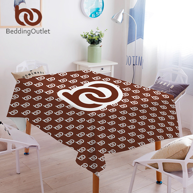 BeddingOutlet Custom Made Tablecloth Waterproof Print on Demand Table Cloth DIY Customized Home Decor Washable Table Cover POD