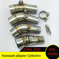 Motorcycle Kawasaki exhaust pipe Adapter For ER6N R25 Z250 Z250SL