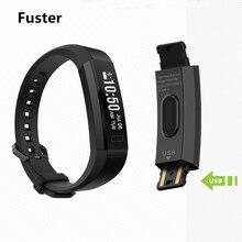 Последняя мода Стиль Bluetooth 4.0 Фитнес V11 смарт-браслет сердечного ритма Monitores Smart Band вызова SMS текста напоминание браслет
