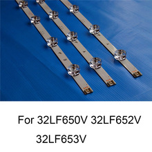 Tira de LED para iluminación trasera para reparación de TV LG, 32LF652V, 32LF653V, 32LF650V, barras s, tipo A, B, 6 lámparas, Original, nuevo