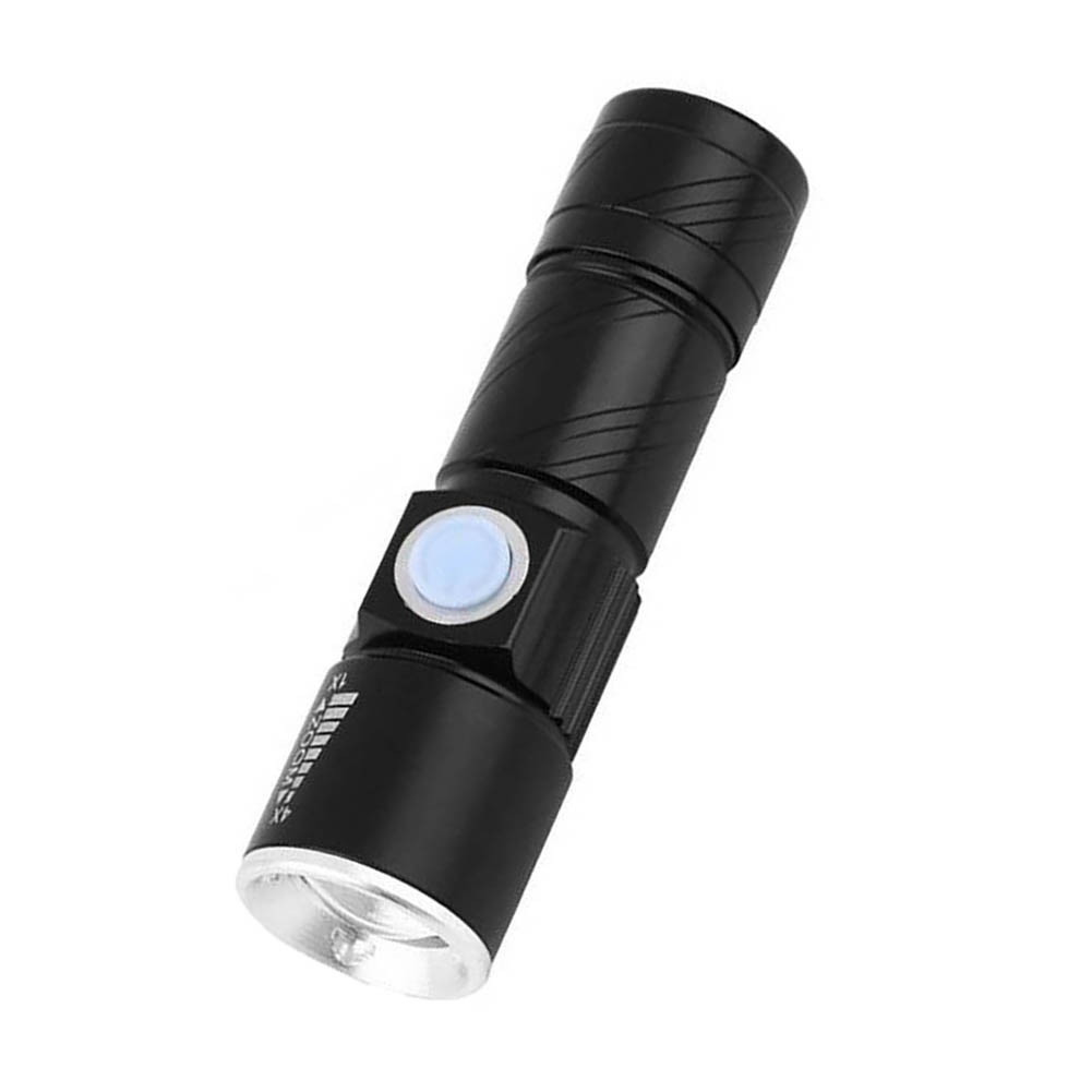 Mini USB Chargeable Super Bright Lstre Flashlight Waterproof Bike Lamp Torch Bicycle Bracket Clip Holder Lantern
