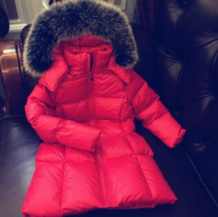 2018 New Long coat Boys Winter Jacket Coat White Duck Down Girls Winter Clothes0 2 6 8 10 12 14 Years Baby Boys Coat Warm Jacket ladies consultation coat white size 14 1 each model 88018qhw14