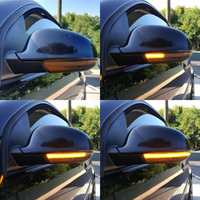 For VW Golf 5 Jt MK5 Passat B5.5 B6 EOS Sequential LED Turn Signal Light Mirror Indicator Dynamic Turn Signal Light
