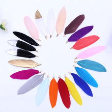 Feather-Plumes Natural-Goose-Feathers Craft Halloween DIY Wedding Pink Home-Decoration