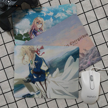 Babaite Funny Violet Evergarden Keyboard Gaming MousePads Smooth Writing Pad Desktops Mate gaming mouse pad