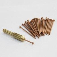 draw pins 2.0mm dent pulling system car dent remover puller spot welding gun welder machine auto body repair tools electrodes