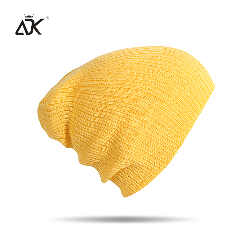Winter Warm Beanies Hats Acrylic Skullies Hip Hop Soft Knitted Hat Female Cap For Boys Girls Outdoor Caps Fashion Accessory 1