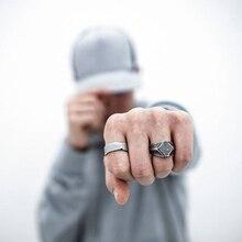 Square Finger Signet Ring