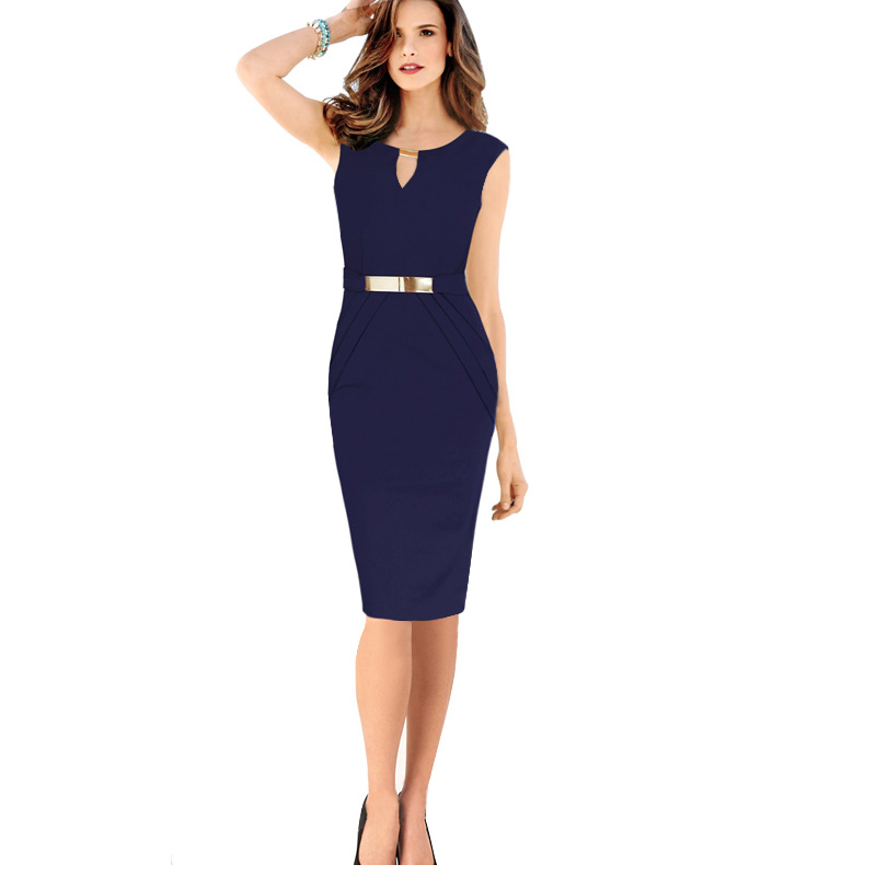 Online Shop summer clothes for women work dresses 2016 new fashion ...