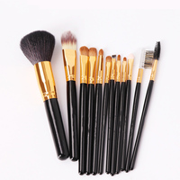 Professional Makeup Brush Set High Quality Soft Hair Taklon Eye Shadow Brush Foundation Eyebrow Lip Brush