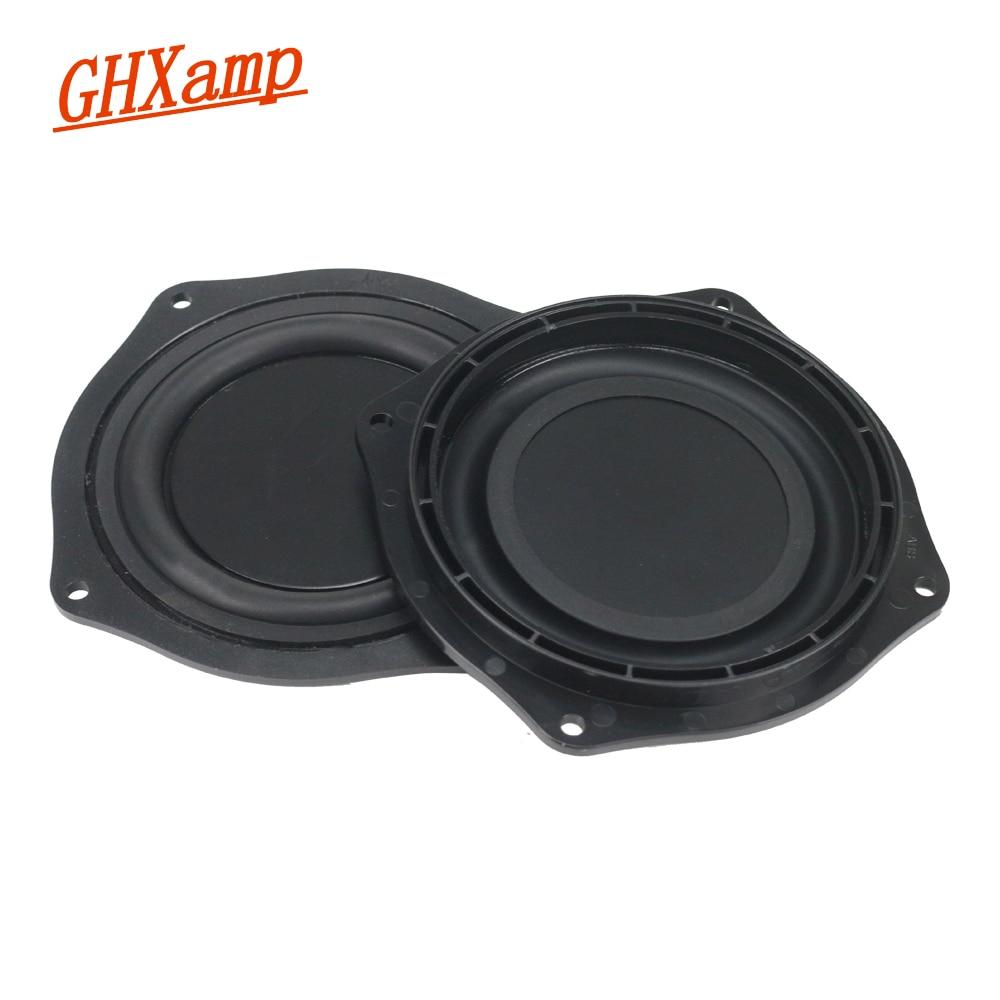 4 Inch 113mm Frame Radiator Passive Plate Audio Bass Vibration Diaphragm 1Pairs vibration of orthotropic rectangular plate