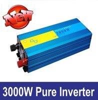 3000W Pure Sine Wave Off Grid Inverter For 12V Solar Battery PV System 24V 220V 50HZ