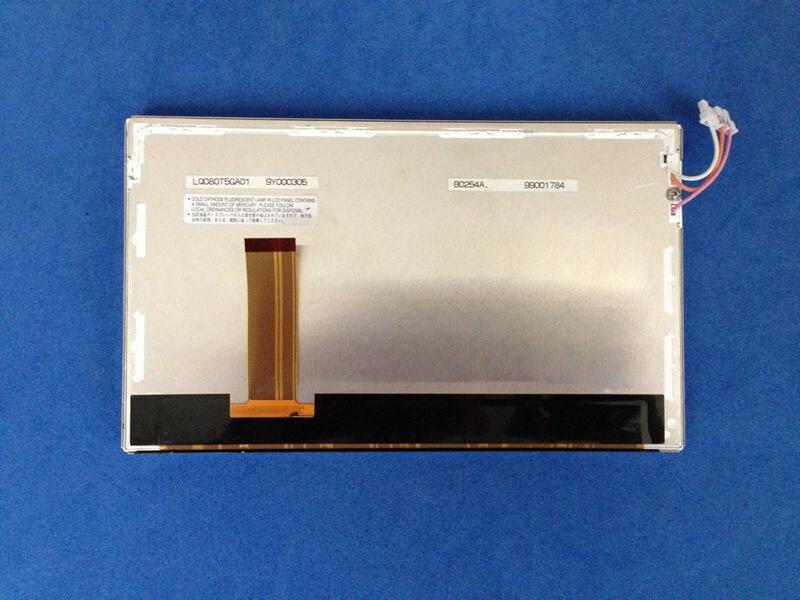 100% original 8.5 ''pouces écran LCD voiture écran 68 broches LQ0DA4234 longueur 19.1cmX largeur 12 cm épaisseur 0.8 cm
