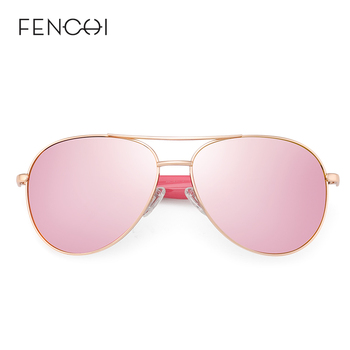 FENCHI Pink Polarized Mirror Glasses  2