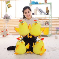 New Coming 1 PC 30cm Lovely Chicken Doll Cute Yellow Chicken Plush Toys Kids Grilfriend Birthday