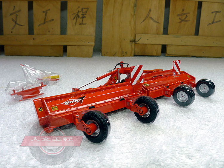 rare Fine Kuhn rm 610 alloy mower model Alloy agricultural machinery model 1:43 Scale Model Alloy Collection Model kuhn rikon switzerland li kang kuhn rikon