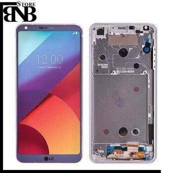 Asli untuk Lg G6 H870 H870DS H872 LS993 VS998 US997 LCD Display dan Rakitan Digitizer Layar Sentuh Tanpa Bingkai untuk Lg G6