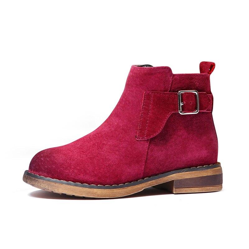 Warm Baby font b Boots b font Boy Kids Winter Shoes Children font b Cowboy b