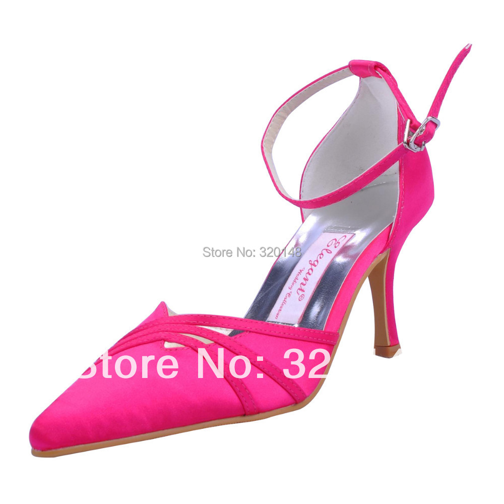 Top Quality Hot Pink Suede Sexy High Heel Pumps Pointed