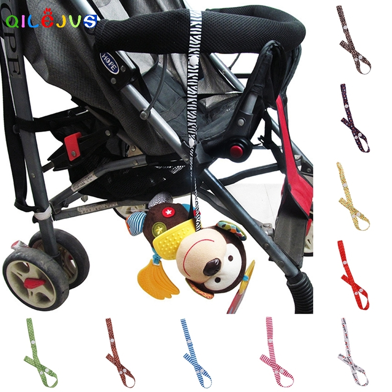 Accessories Hooks Baby Cup Holder Stroller Toy Strap Bind Belt Anti-lost Band