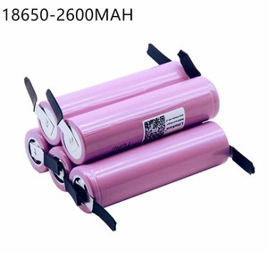 Image 1 - 5 PCS New For  ICR18650 26FM 18650 2600 mAh 3.7V Li ion Battery Rechargeable Battery