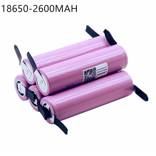 5 stks Nieuwe Voor ICR18650 26FM 18650 2600 mah 3.7 v Li Ion Batterij Oplaadbare Batterij