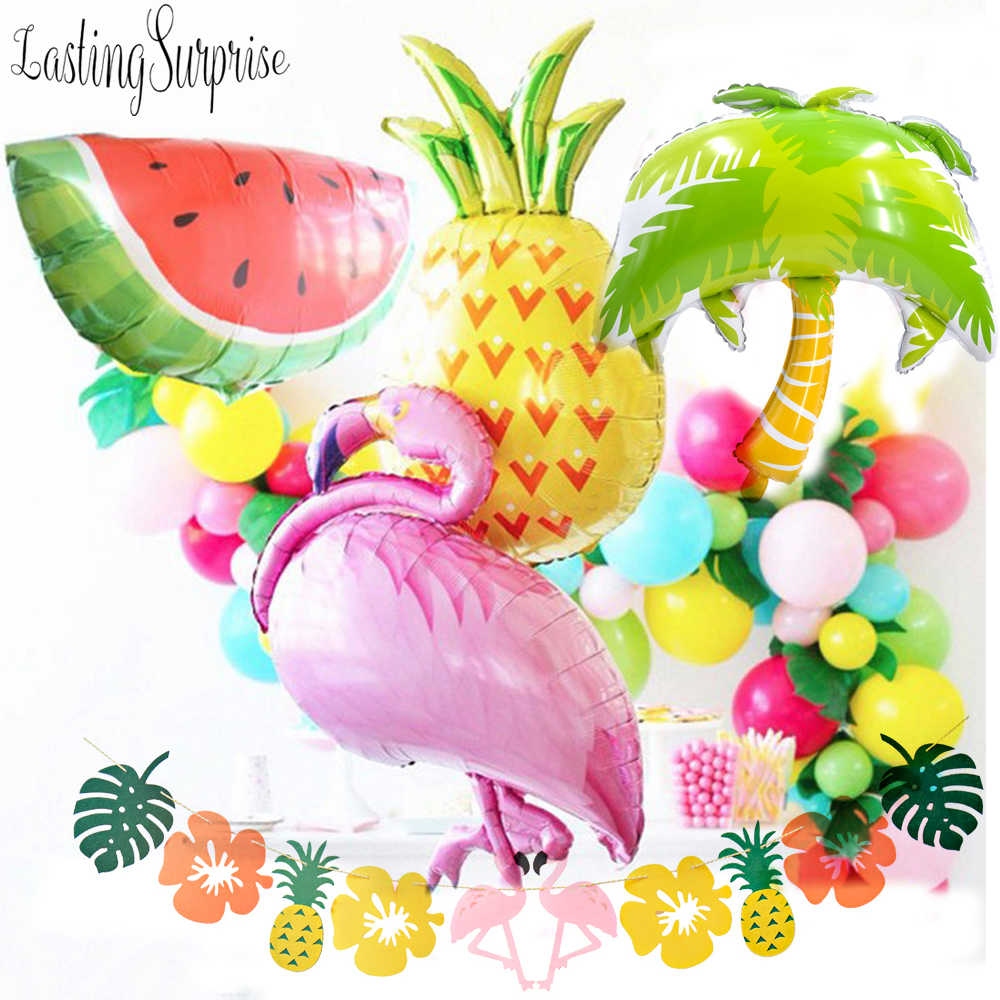 Big Inflatable Flamingo Balloons Party Decorations Supplies