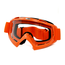 BJGLOBAL Adult Motorcycle Goggles Motocross Bike Cross Country Flexible Sport Racing Goggle Clear Lens Motor Glasses For KTM