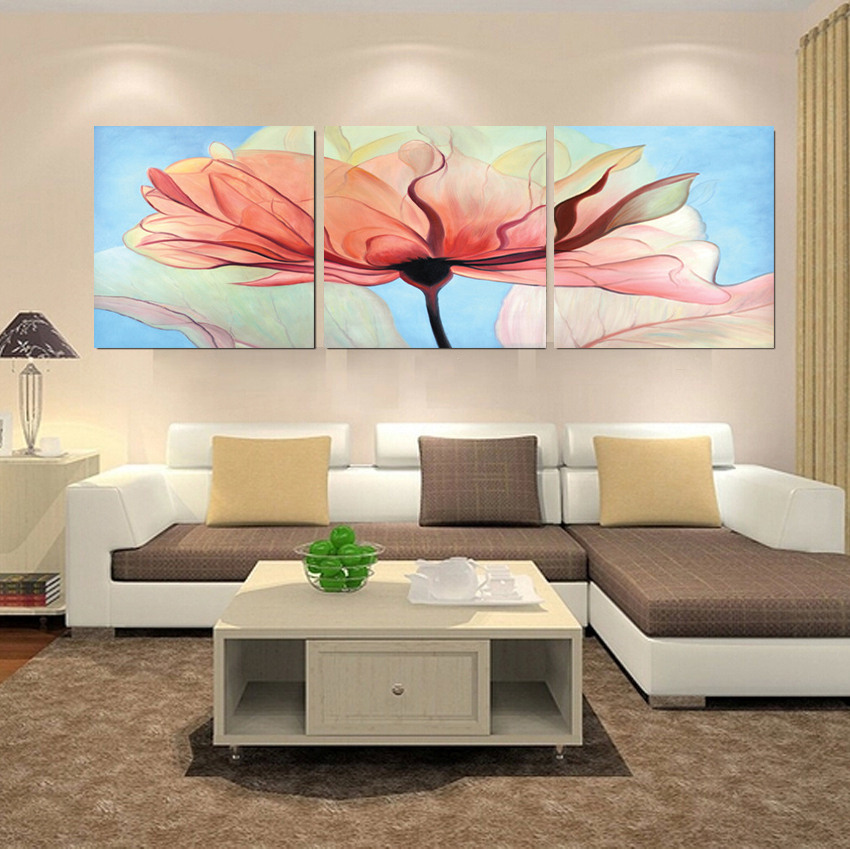 home decoration modern 3 piece wall decor