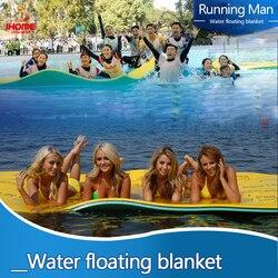 2019 alfombra de agua flotante manta de agua cama flotante para agua más suave flotador tipo alfombra colchones de aire accesorios de piscina Envío Directo