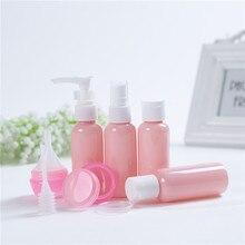 9PCS Creatieve Reizen Draagbare Fles Set voor reizen woonaccessoires badkamer zeepdispenser hand ontsmetten douchegel shampoo