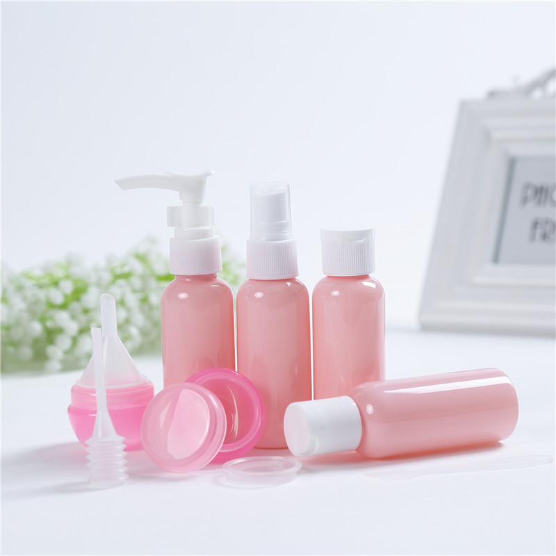 9PCS Creative Travel Portable Bottle Set for travel home accessories bathroom soap dispenser hand sanitize shower gel shampoo in Portable Soap Dispensers from Home Garden