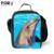 2016 Hot Sale Crianças Animais Lunch-Sacos de Sling Bag, Moda Crianças Golfinhos Lunch Box, Caixa de Isolamento Lancheira À Prova D' Água Bolsa de ombro