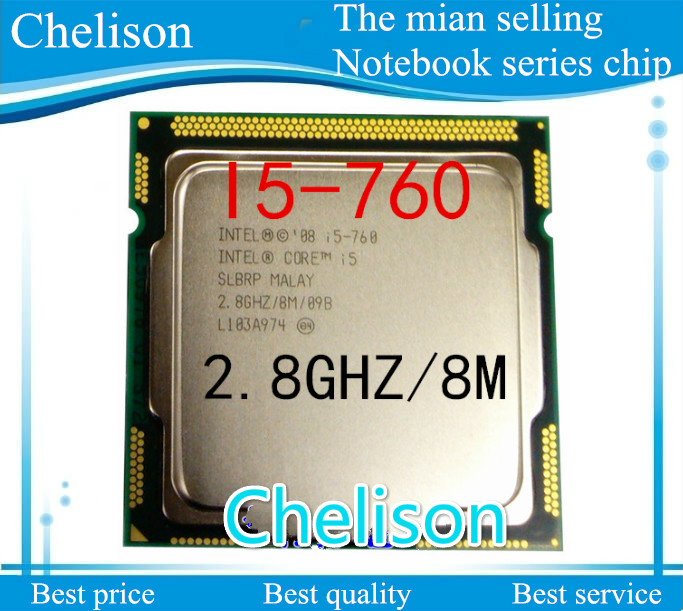 FREE SHIPPING Core I5 760 Hot Sale CPU 100% Original Socket 1156 I5-760