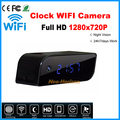Главная Камеры безопасности 720 P Беспроводная Ip-камера Электронные Часы WIFI Сетевая Камера поддержка Motion detct P2P Тревоги Мини Цифровой HD