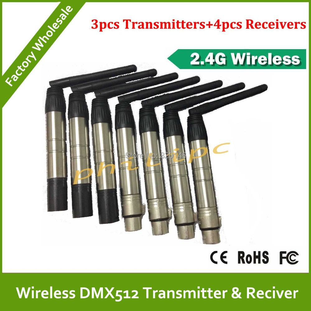DHL/EMS Free Shipping wireless DMX512 transmitters and receiver DMX512 wireless console DMX512 wireless for  led par light dhl ems 5 tr on 3 tron3 for fu ji thermal overload relay new free shipping d1