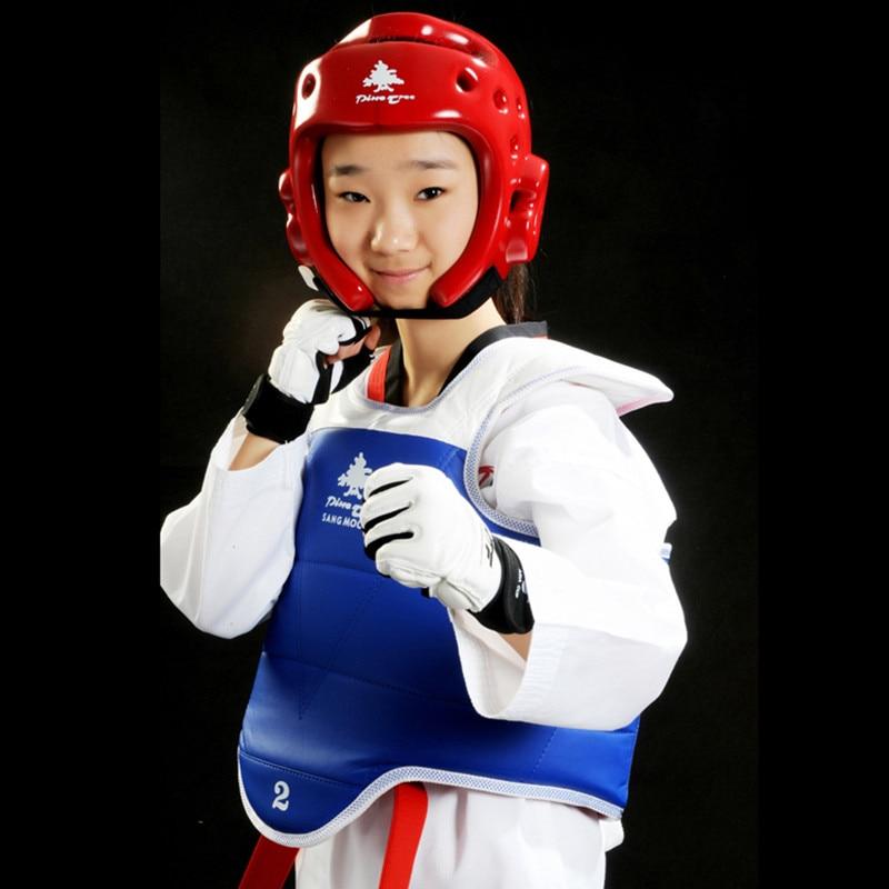 Pine Tree Taekwondo Protektoren Suite Karate Schienbeinschutz - Sportbekleidung und Accessoires - Foto 2