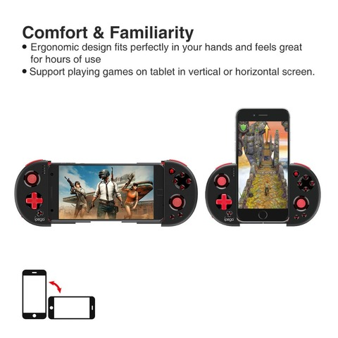 Game Pad Bluetooth Gamepad Controller Mobile Trigger Joystick  For Android Cellular Phone PC Wireless Mobile Phone Game PG9087 Karachi