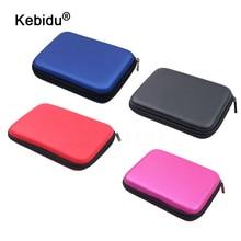 Kebidu nuova borsa da 2.5 pollici per custodia protettiva per HDD borsa da 500GB 1TB 2TB borsa per disco rigido esterna portatile