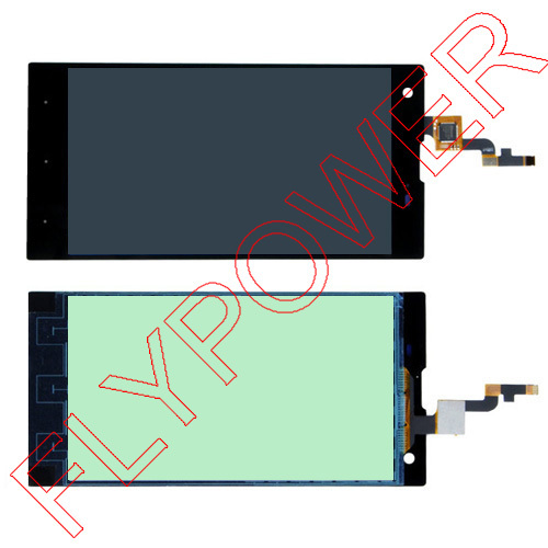 100% Warranty For FLY tornado one IQ4511 LCD Screen with touch screen digitizer assembly by free shipping глюкометр one touch verio iq
