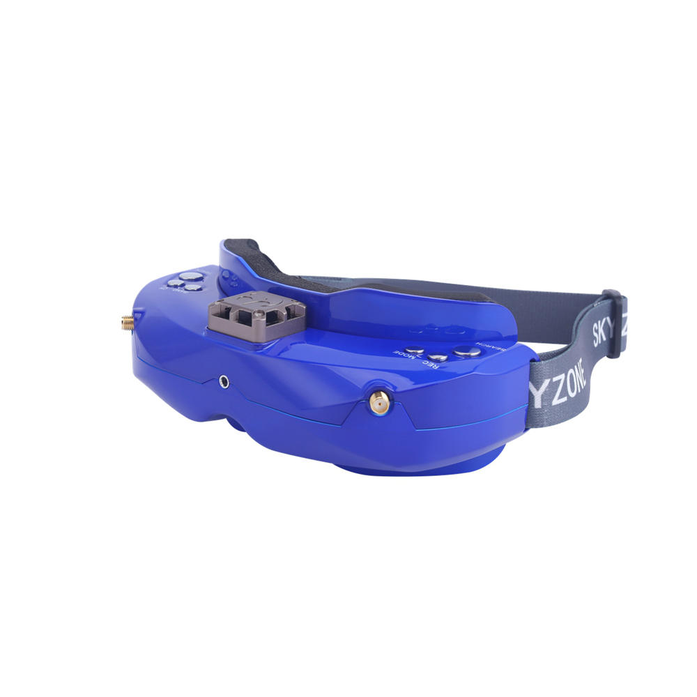 SKYZONE SKY02X 5.8Ghz 48CH Diversità FPV Occhiali Supporto 2D/3D HDMI Testa di Monitoraggio Con Il Ventilatore DVR Fotocamera Frontale per Da Corsa del RC Drone - 2