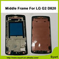 High Quality Middle Frame Middle LCD Frame Housing Bezel Repair Parts replacement For LG D820