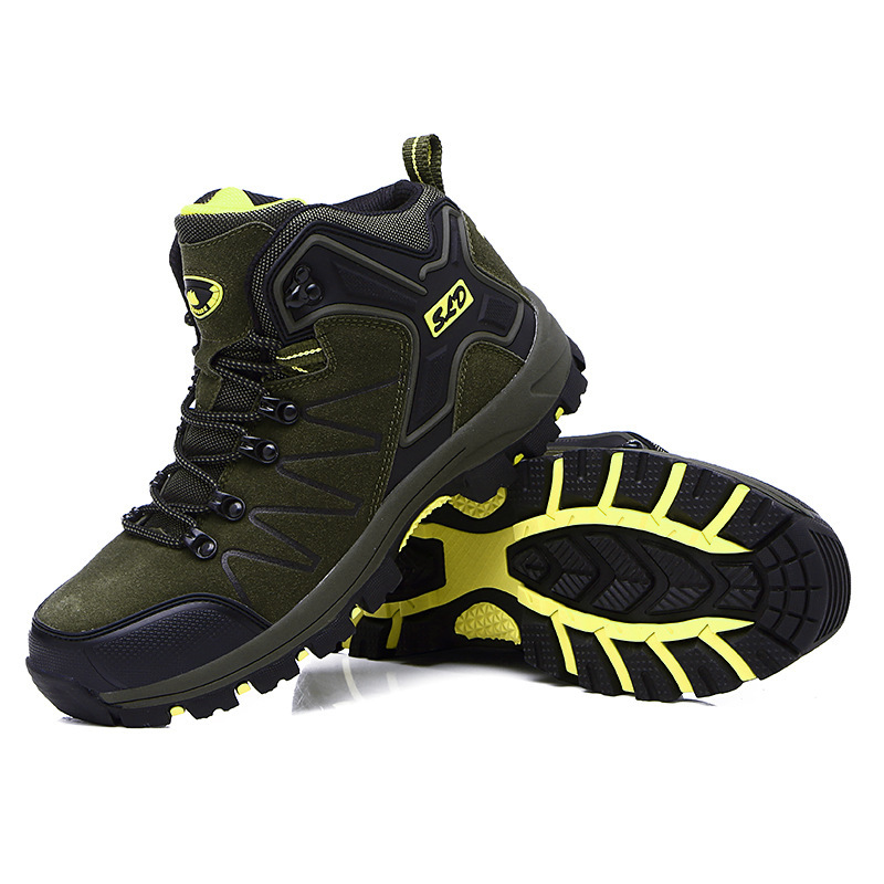 Shoes Boots Climbing Outdoors Winter Hiking-Arrival High-Top New Male Autumn And Men