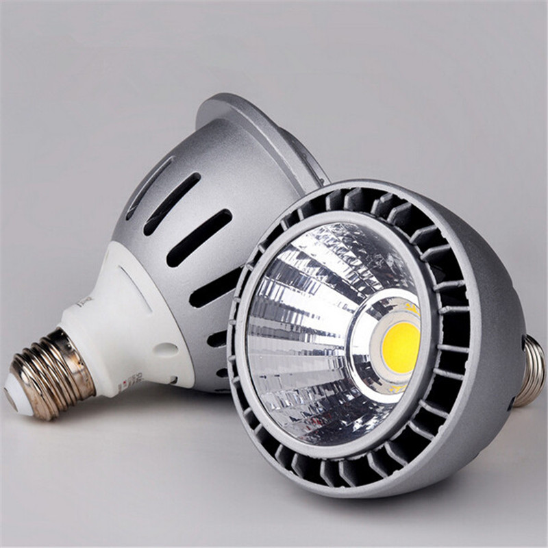 Free Shipping NEWS high power Par30 25W LED Bulb COB E27 LED Spotlight Par 30 Light Lamp AC90 260V Warm White/White/Cold White