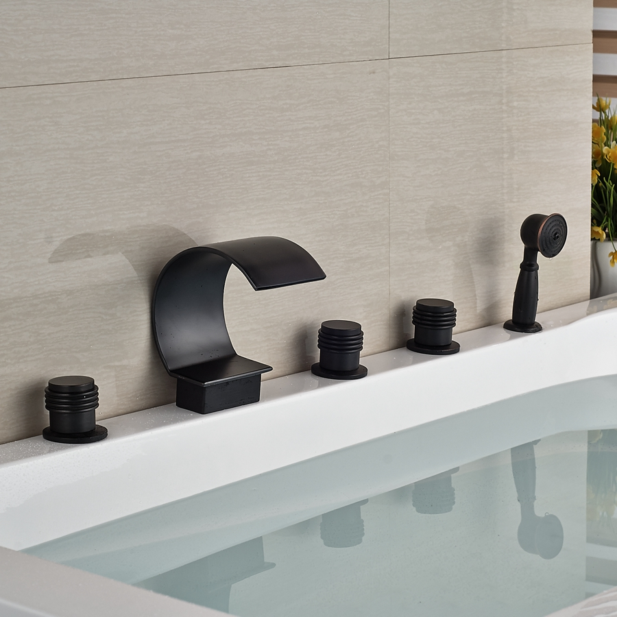 ᗖwholesale And Retail Luxury Oil Rubbed Bronze Waterfall Bathroom