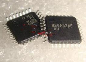Free Shipping 2pcs ATMEGA328 MEGA328, AVR ATmega328P-AU TQFP Microcontrollers ICs