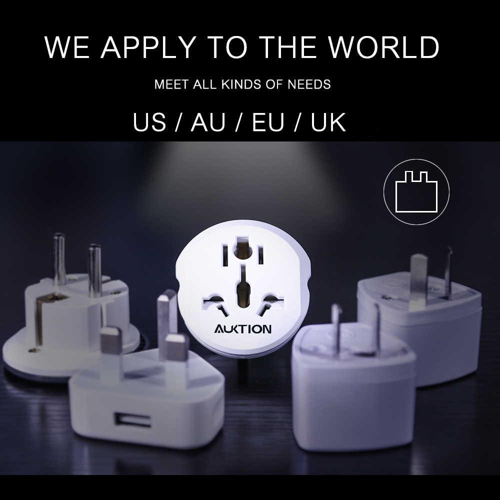 AUKTION 16A العالمي الاتحاد الأوروبي (أوروبا) محول محول 250 فولت التيار المتناوب شاحن السفر الجدار قابس طاقة محول مأخذ التوصيل أدوات عالية الجودة