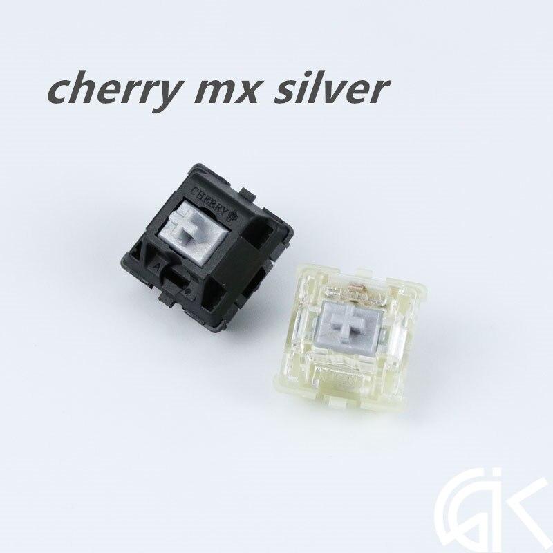 1 Stück Original Mechanische Tastatur Rgb Schalter Kirsche Mx Geschwindigkeit Silber Mx Rgb Silber Für K70 Strafe Elegant Im Geruch