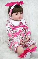 60cm Silicone Reborn Princess Baby Doll