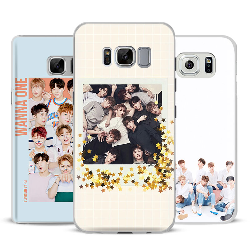Wanna One Kpop Boy band Phone Case Cover For Samsung ...